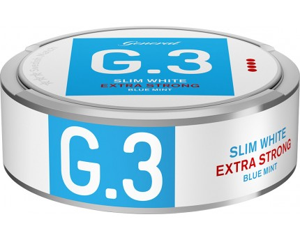 c3f9fd571816 General G.3 Blue Mint Extra Strong Slim White Portion