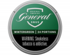 General Original Portion | Buy Swedish Snus from mysnus com Shop